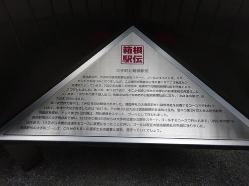 21大手町と箱根駅伝.JPG